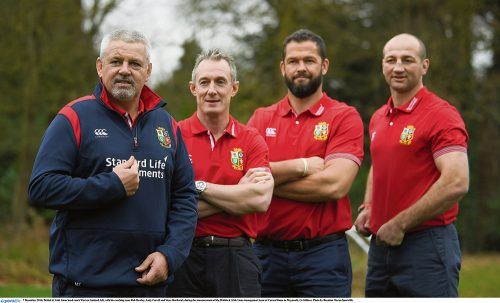 Gatland's Lions Optimism