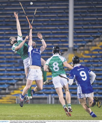 Late goal seals Munster another title
