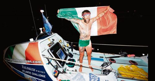 Heroin addict turns around break sailing records
