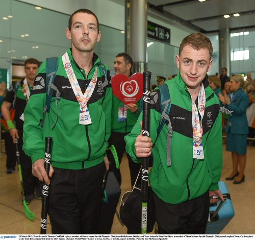 Heroes welcome Team Ireland Austria