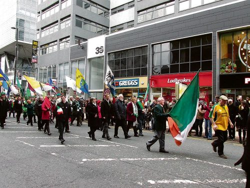 Manchester Irish St Patricks 2017