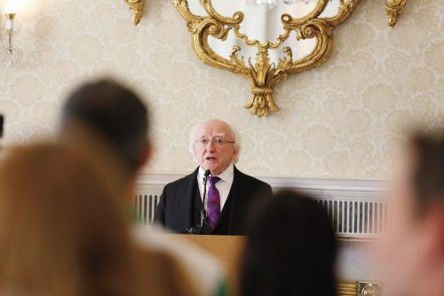 St Patricks Speech President Michael D Higgins