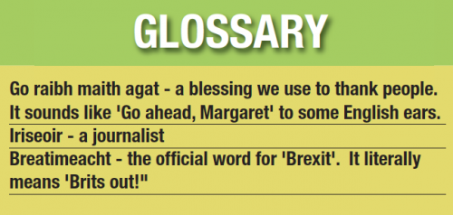 Irish language Go Ahead Margaret
