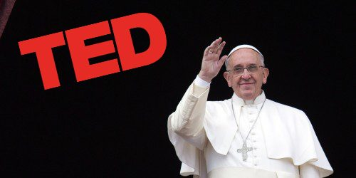 Pope Francis surprising TED talk
