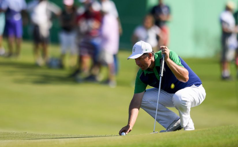 Padraig Harrington sustains freak elbow injury