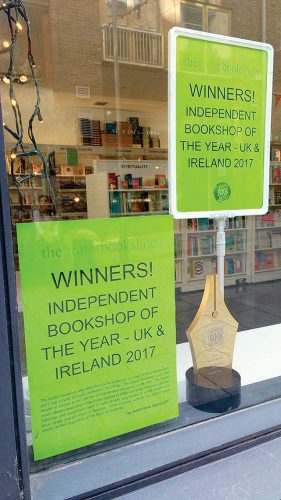 gutter ireland's best indie bookshop british book awards