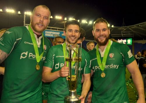 london irish promotion championship yorkshire carnegie nick kennedy