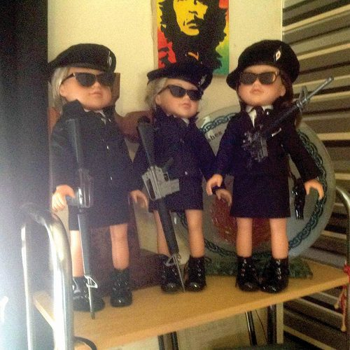 Homemade IRA dolls cause outrage