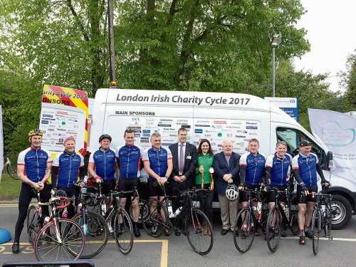 Watch 250 mile cycle Dublin raises 56K