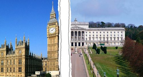 British Governments Political Tightrope Stormont