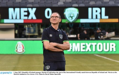 republic of ireland mexico martin o'neill defeat