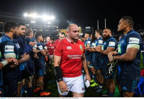 british and irish lions warren gatland blues defeat