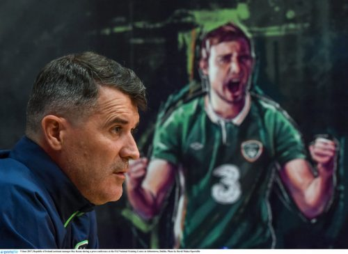 roy keane republic of Ireland seamus coleman visit