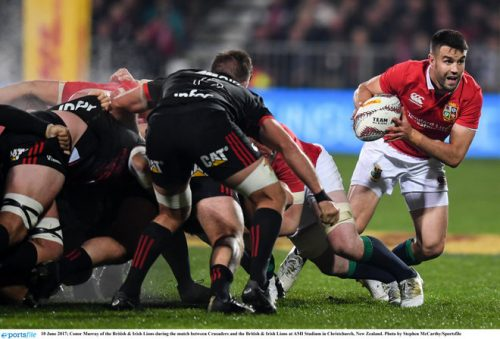 british and irish lions show claws crusaders victory