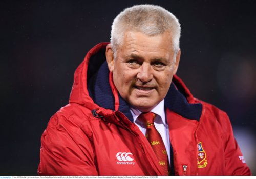 Maori All Blacks warren gatland british irish lions