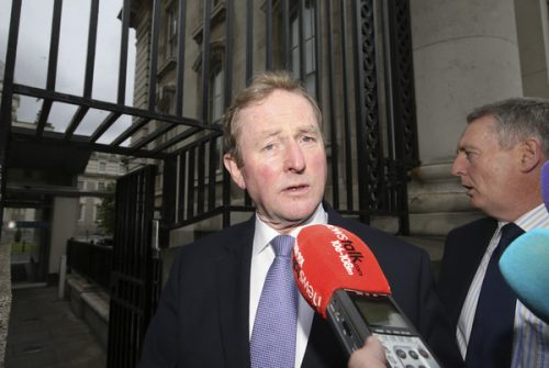Fine Gaels successful leader enda kenny resigns
