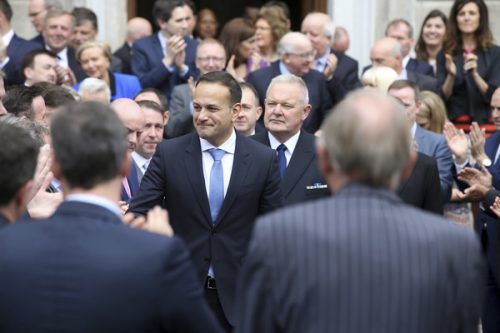 Leo Varadkar elected Irelands youngest Taoiseach