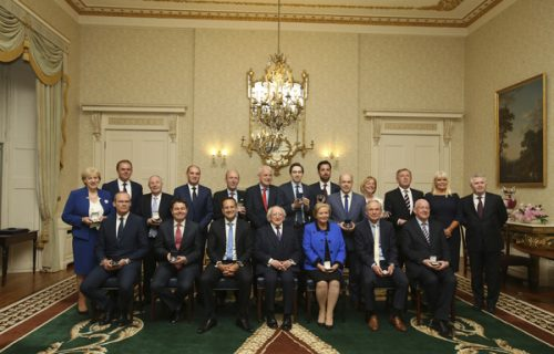 Varadkar announces new government