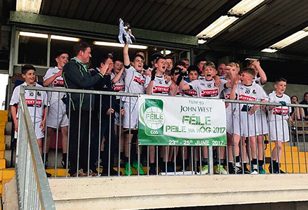 South London gaa Under 14s All Ireland Champions