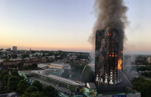 Irishman victim Grenfell Tower block fire London