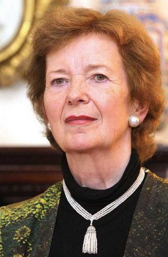 Mary Robinson fierce attack US President