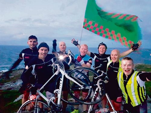 630km charity cycle 24 hours