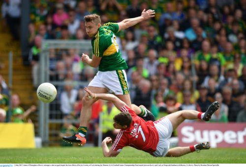 kerry cork munster championship title flex muscle