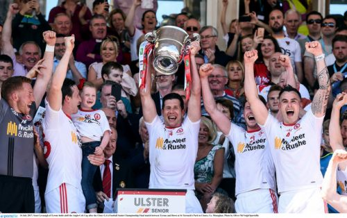 ulster championship title tyrone down mickey harte