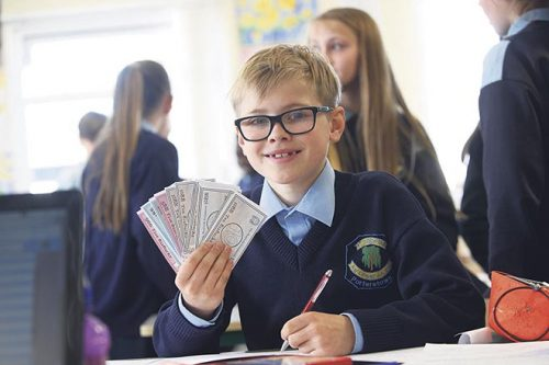 bizworld irish schoolchildren entrepreneurial flair skills