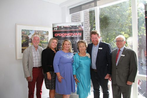 Irish Cultural Centre Joe O'Donovan Room honoured O'Donovan Waste Disposal