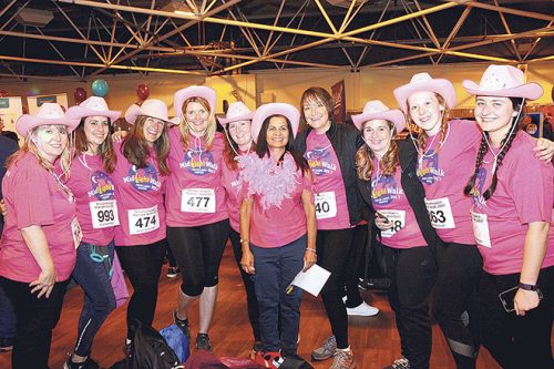 Women raise 180K single night st lukes midnight walk