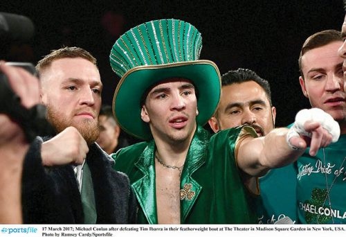 Michael conlan boxing champion peoples champion matthew macklin
