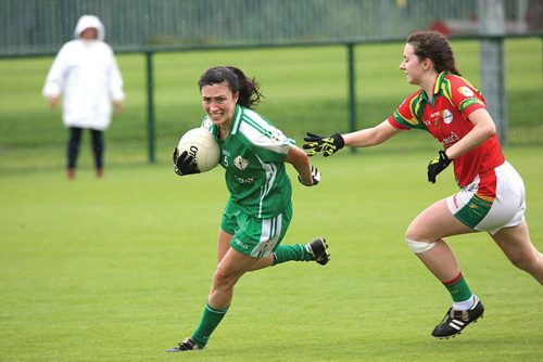 carlow ladies squeeze past valiant london