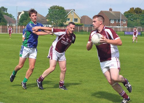 eire og moindearg hat-trick Joe McMahon junior london championship
