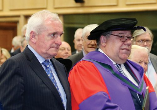 Taoiseach Brian Cowen regret Ireland financial crisis in 2008