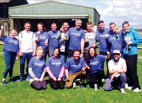Skydivers double fundraising target