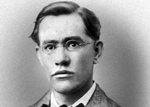 An Post poet Francis Ledwidge commemorative Irish stamp