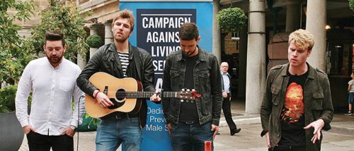 Kodalines London charity busk