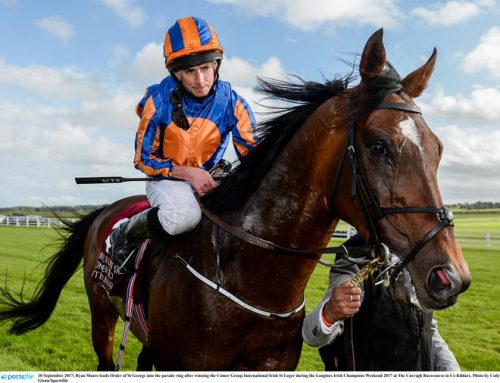 O'Brien plots path St Leger winner Order St George