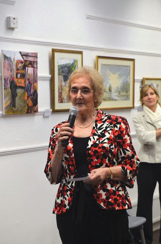 Speech therapy irish art exhibition