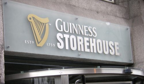 Guinness ahead €16m extension dublin city council Gravity Bar