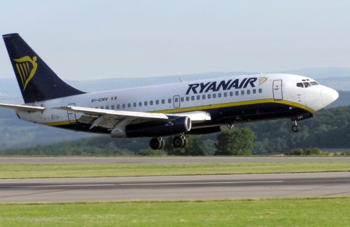 Ryanair confirms list majority flights cancelled