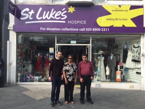 St Luke's Hospice launches appeal charity shop burgled