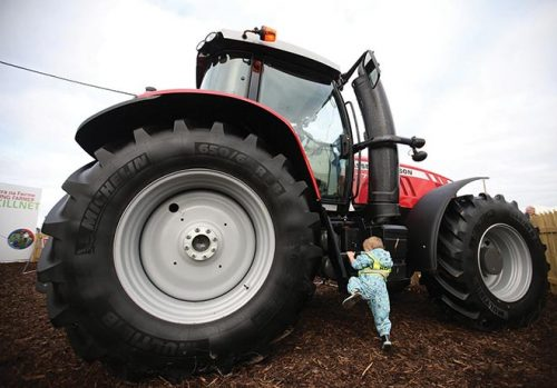 Record-breaking crowds ploughing championships Tullamore