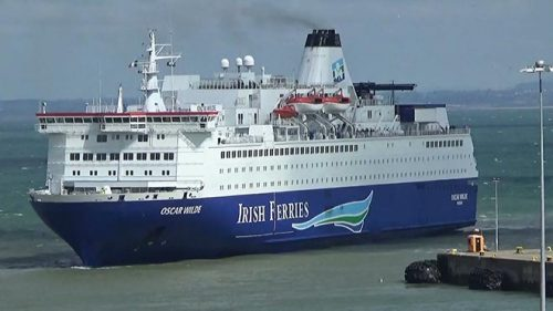 Stowaways arrested Dublin-bound Irish Ferries crossing
