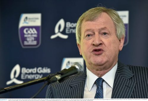 Páraic Duffy step down GAA Director General