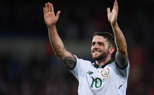Robbie Brady cleared Ireland World Cup play-off FIFA