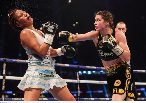 Katie Taylor world title Dublin defence