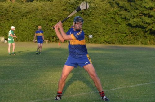Robert Emmetts book senior hurling championship final place