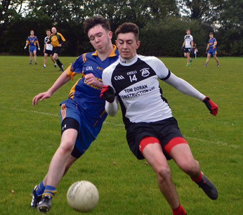 Cloneth Gallagher goal double st Kiernans u16 championship final
